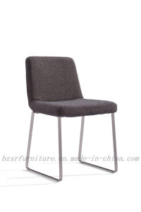 A3 Carbon Steel Spray Crape Velvet Fabrics Dining Chair (SY-5361)