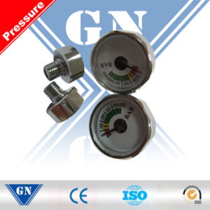 Cx-Mini-Pg Diaphragm Pressure Gauge for Fire Extinguisher (CX-MINI-PG) pictures & photos