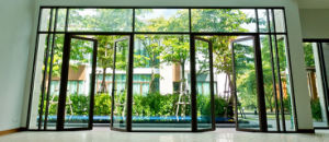 AS/NZS2208 Aluminum Double Leaf Glass Door and Window Manufactor pictures & photos