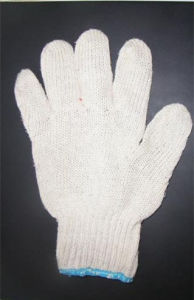 Competitive White Color Working Cotton Glove (SQ-010) pictures & photos