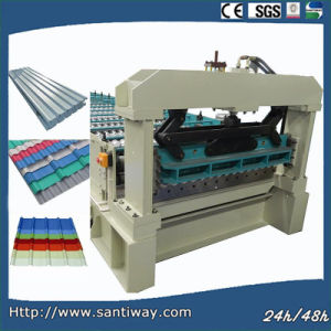 CE Certificated Metal Corrugated Sheets Cold Roll Forming Machine pictures & photos