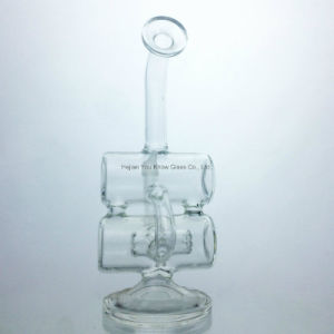 Water Pipes Percolator DAB Recycler Oil Rigs Glass Pipe with Perc pictures & photos