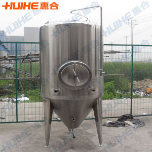 Stainless Steel Vertical Conical Beer Fermenter pictures & photos