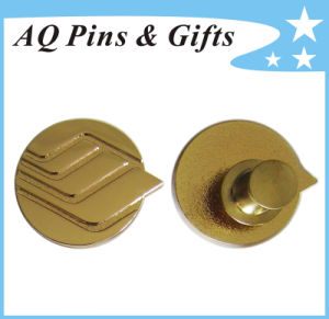 Meal Gold Pin Badge with Gritty (badge-245) pictures & photos