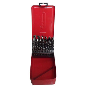 25PCS HSS Drill Bits Set with Metal Box (JL-HDBM25) pictures & photos