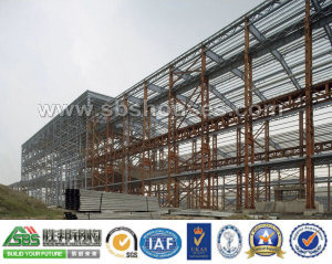 Prefabricated Light Steel Structure Workshop pictures & photos