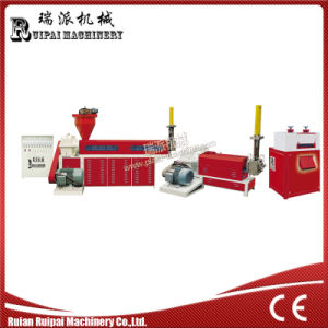 Two Stage Water Cooling Plastic Recycling Extruder Machine Price pictures & photos