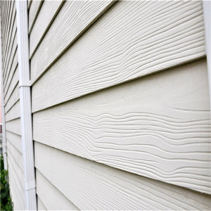 5mm Villa Wood Grain Exterior Siding Panel Made in China pictures & photos