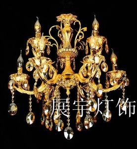 Zinc Alloy + Crystal Pendant Lamp pictures & photos