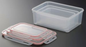 3PCS/Set Fresh Keeping Crisper Refrigeration Storage Box Food Storage Container pictures & photos