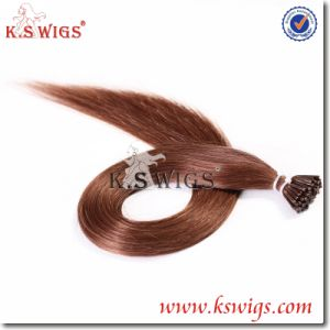I-Tip Keratin Human Hair Remy Indian Hair Extension pictures & photos