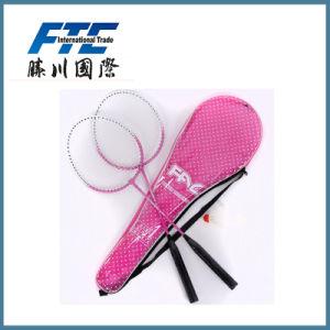 Aluminum/Craphite Customized Logo OEM Design Badminton Racket pictures & photos