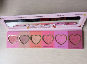Too Faced Makeup Cosmetic Love Flush 6 Colors Blusher Palette pictures & photos