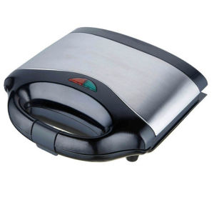 220V Professional Stainless Steel Cover Sandwich Maker pictures & photos