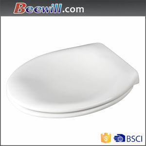 White Urea Soft Close Comfortable Toilet Seat Cover Sanitary Wares pictures & photos