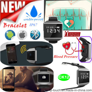 Smart Watch with Heart Rate Monitor and Blood Pressure Monitor (CK12) pictures & photos