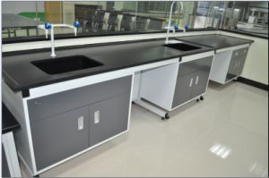 New Hot Sale Lab Side Bench with Sink pictures & photos