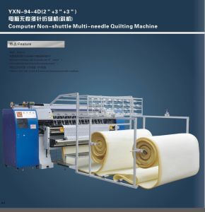 Industrial Non Shuttle Chain Stitch Multi Needle Quilting Machine for Mattress Yxn-94-3c pictures & photos