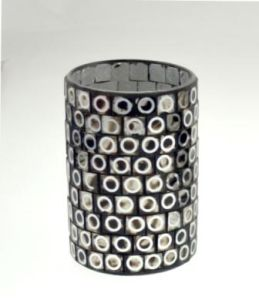 New Design Glass Mosaic Candle Holder Cylinder pictures & photos