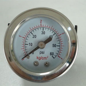 40mm Black Steel Case with U Clamp Manometer pictures & photos