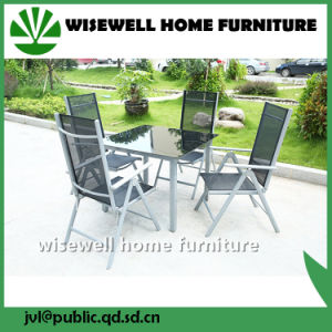 Aluminum Outdoor Patio Dining Furniture with 8 Seat (WXH-001) pictures & photos