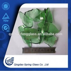 Green Beer Bottle Glass Cullets pictures & photos