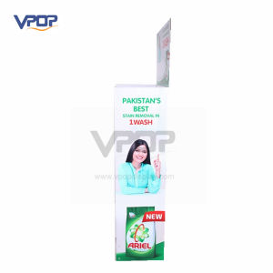 Professional Super Market Cardboard Display Rack for Washing Powder pictures & photos