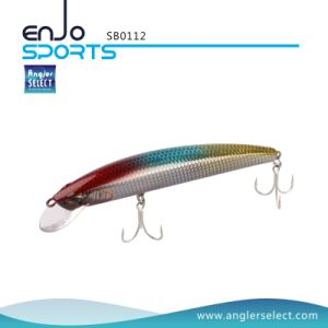 Shallow Floating Minnow Fishing Tackle Lure with Bkk Treble Hooks (SB0112) pictures & photos