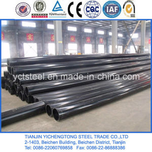 Black Hot Rolled Seamless Steel Pipe-Q235 pictures & photos