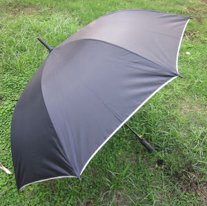 Strong Black Straight Umbrella (YSS0061)