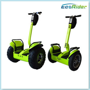 Two Wheels 4000W 72V Standing Balance Electric Golf Chariot pictures & photos