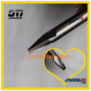 Jingnuo High Precision Tungsten Solid Carbide Drill Cutting Tool pictures & photos
