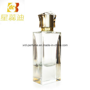 Polishing Perfume Bottle with Pump and Anodized Cap pictures & photos