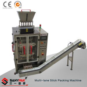 Small Food Powder/Granule More Columns Vertical Stick Packaging Machine pictures & photos