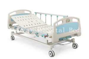 ABS Two-Function Manual Hospital Beds Factory Price/CE/ISO13485/ISO9001 pictures & photos