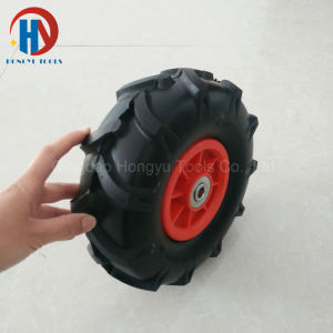 Offroad Tyre 10X3.50-4 PU Foam Wheel pictures & photos