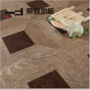 12mm Art Paste-up Surface European Style Laminated Floor pictures & photos