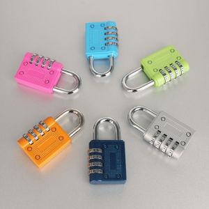 Color Mini Travel Luggage Lock Resettable 3 Digit Combination Padlock Password Suitcase pictures & photos