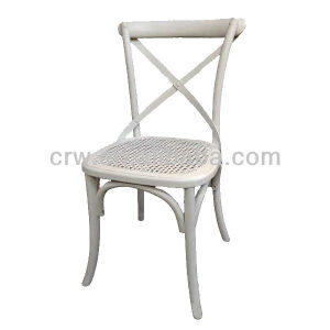 Rch-4001-19 Cross Back Chair White Oak Dining Chair pictures & photos