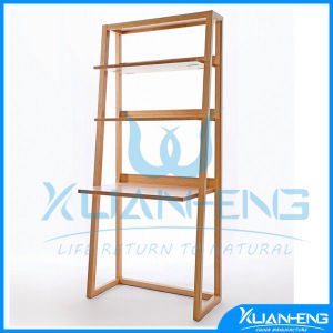 Supermarket Bamboo Display Holder with Promotion Board pictures & photos