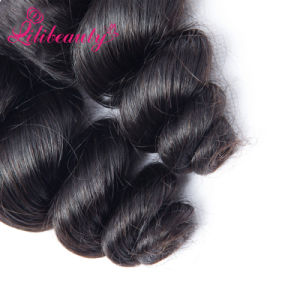 Loose Wave Hair Natural Hair Extensions, Virgin Mongolian Loose Wave pictures & photos