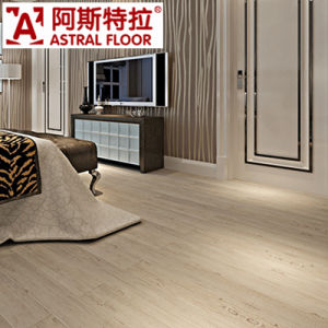 Wave Embossed in 12mm with EVA Underslayment Lamiante Flooring pictures & photos