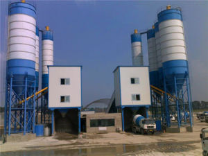 Sicoma Mixer Concrete Mixer High Production Rate Hls60 Concrete Station pictures & photos