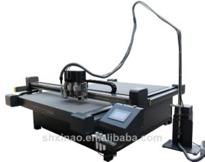 Acrylic PVC Expansion Ktboard V-Cut Series High Speed Flatbed Digital Cutter pictures & photos