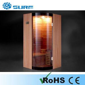 Oval Shape Single Person Sauna Room/Sauna Cabin/Special Sauan (SF1Q003)
