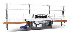 Glass Straight-Line Miter Edging Machine Bm9-45PLC pictures & photos