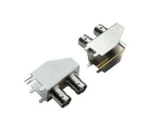 PCB Mount Double Female Right Angle BNC Connector pictures & photos