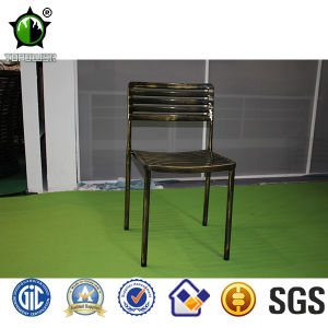 Cheap Vintage Anti -UV Powder Coating Antique Brozen Metal Chairs