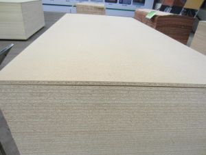 Plain Particle Board/Chipboard From China Luli Group pictures & photos