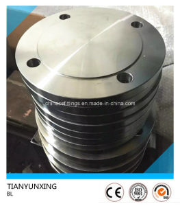 ANSI B16.5 A105n Forged Bl Carbon Steel Blind Flange pictures & photos
